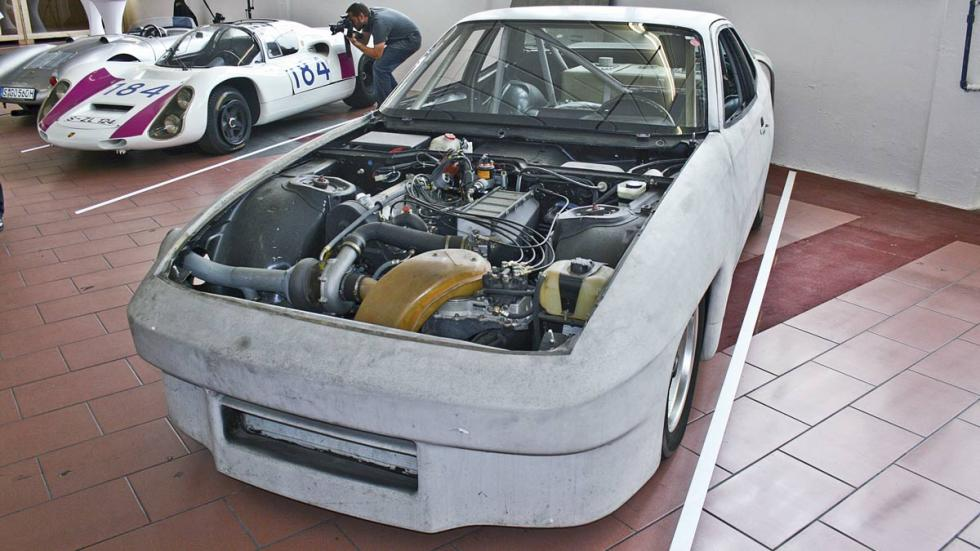 Museo secreto de Porsche, prototipo rodante de pruebas