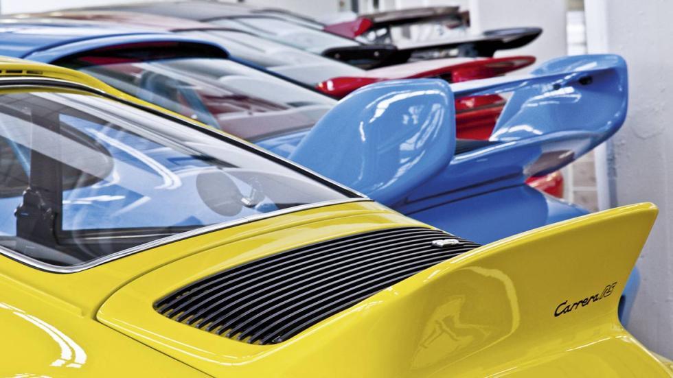 Museo secreto de Porsche, Porsche RSR alerones