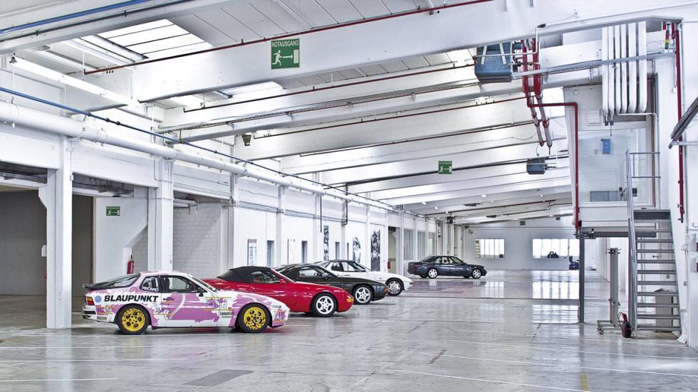 Museo secreto de Porsche, vista general