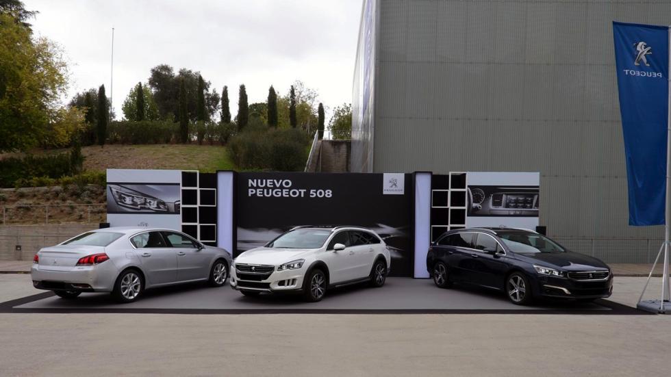 Exposición Peugeot 508 en la Millesime Madrid 2014