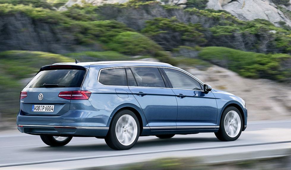 Nuevo Volkswagen Passat Variant lateral