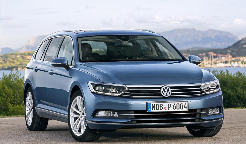 Nuevo Volkswagen Passat Variant delantera