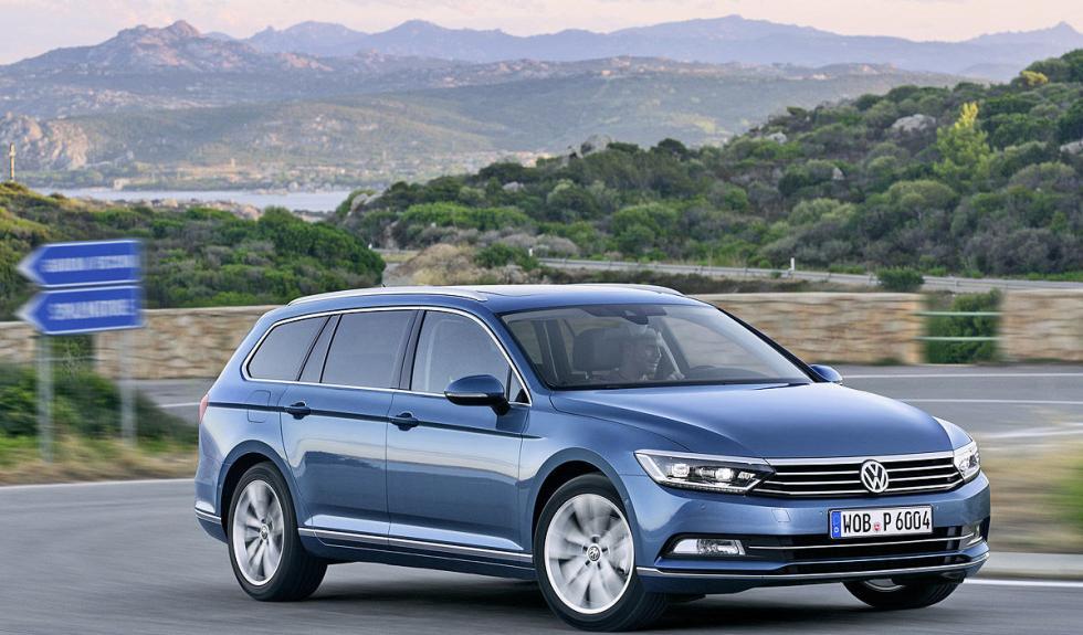 Nuevo Volkswagen Passat Variant detalle vista dinámica