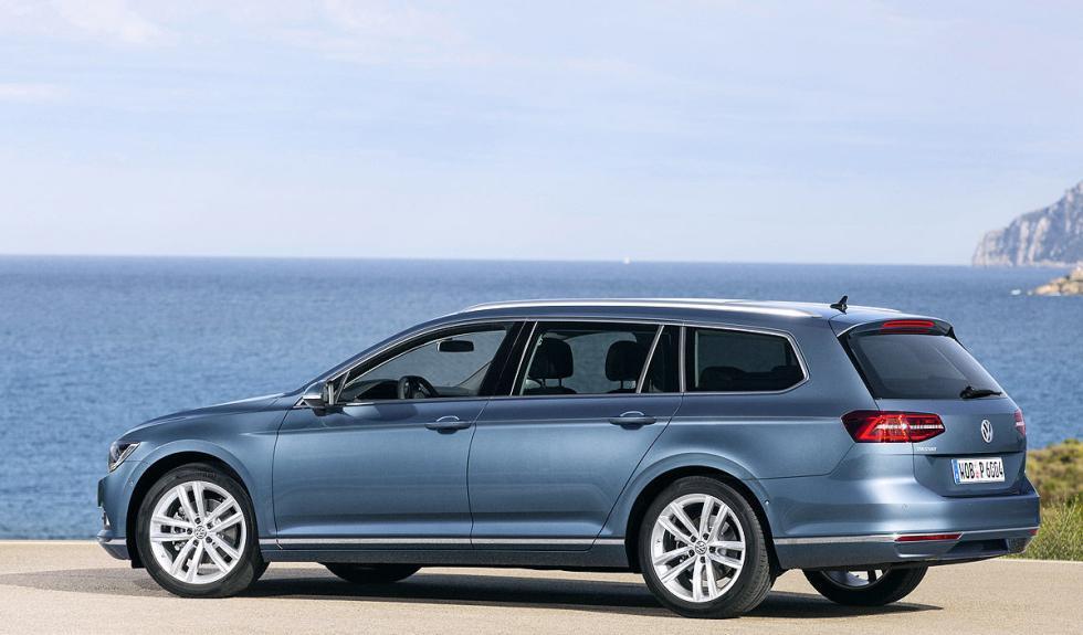 Nuevo Volkswagen Passat Variant prueba de conducción
