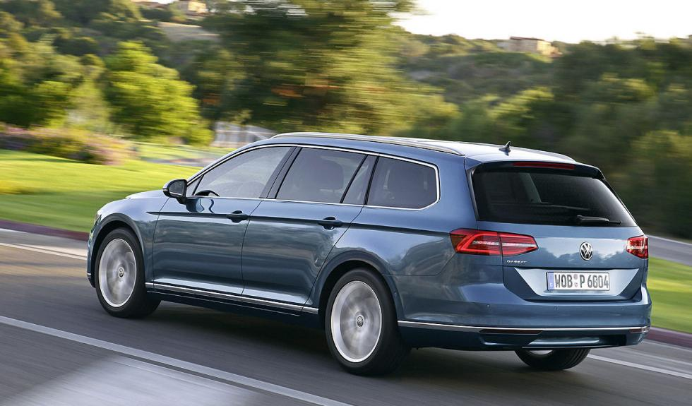 Nuevo Volkswagen Passat Variant en marcha