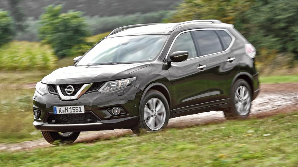 Comparativa X-Trail, Outlander, CX-5 y Forester