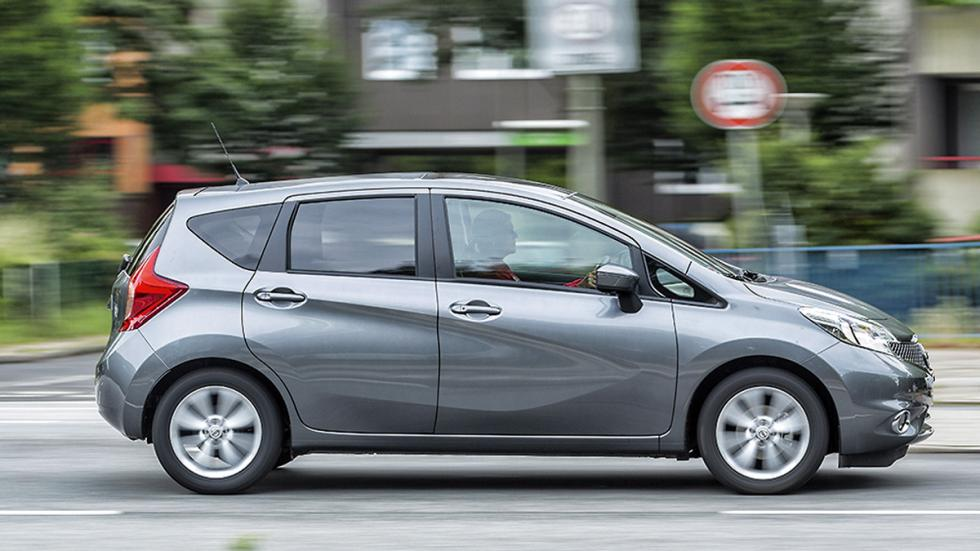 Nissan Note CVT lateral