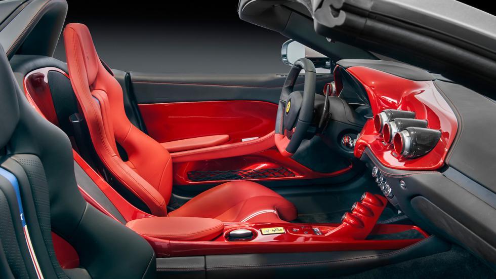 Ferrari F60 América interior