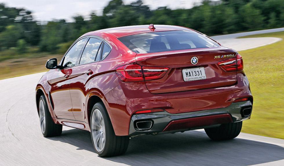BMW X6 M50d test