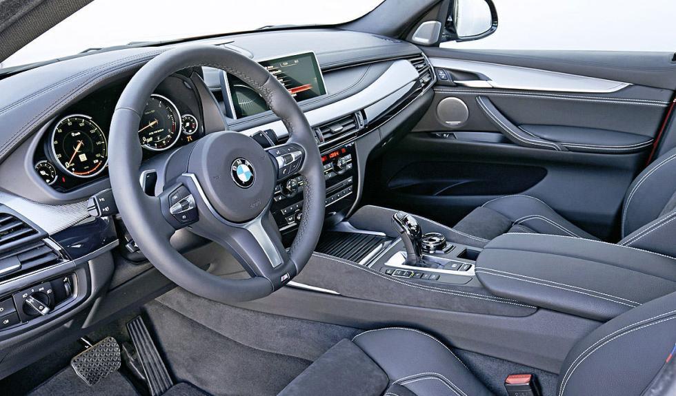 Primera prueba del BMW X6 M50d