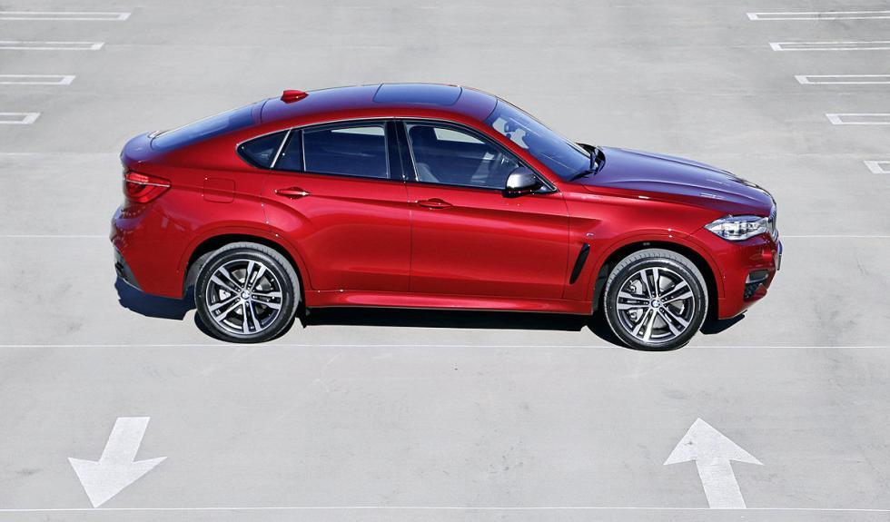 Primera prueba del BMW X6 M50d en AUTOBILD