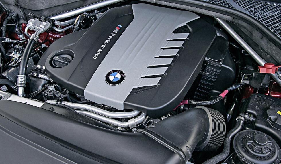 BMW X6 M50d detalle 2