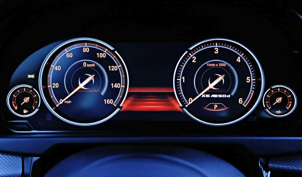 BMW X6 M50d dinámica