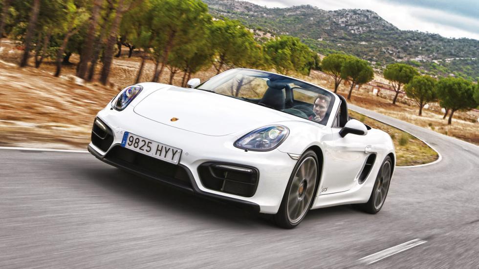 Fronatl del Porsche Boxster GTS
