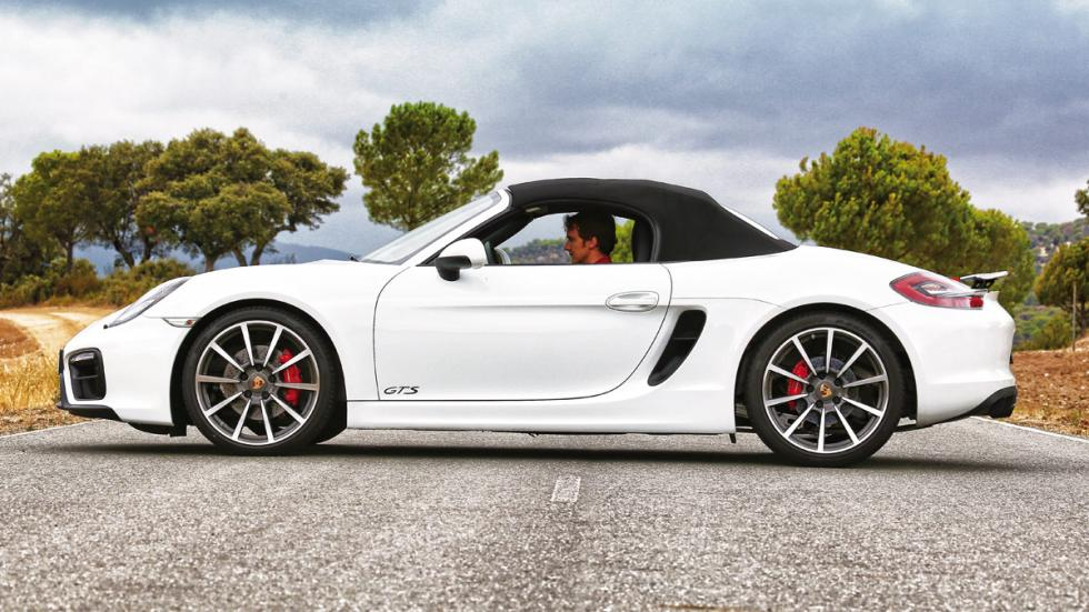 Porsche Boxster GTS cerrado