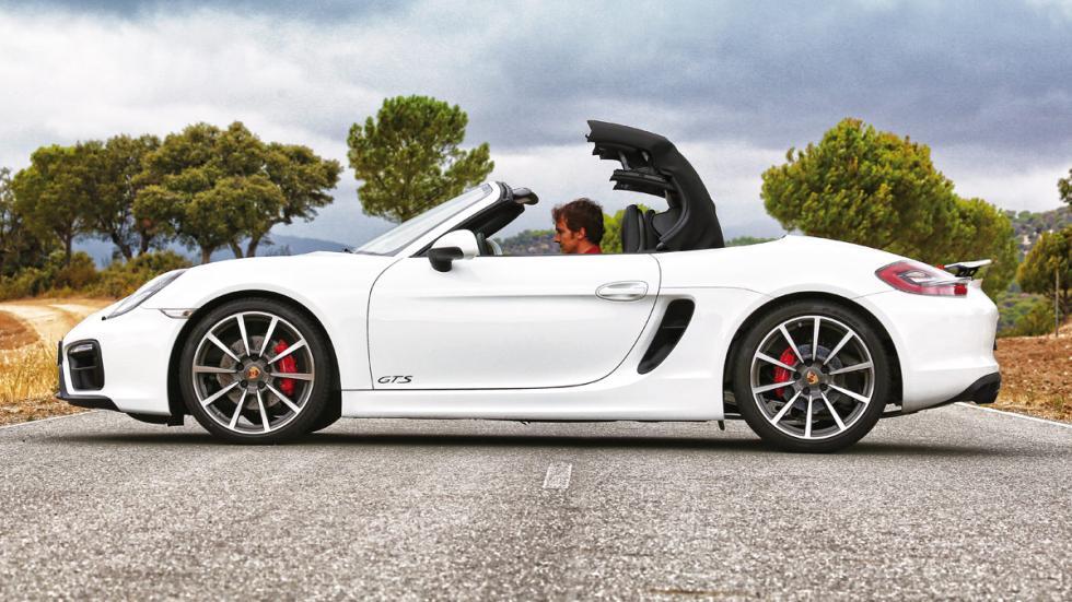 Porsche Boxster GTS descapotando