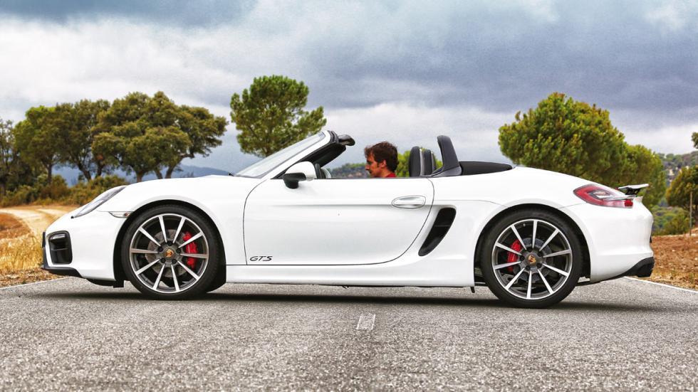 Porsche Boxster GTS descapotado