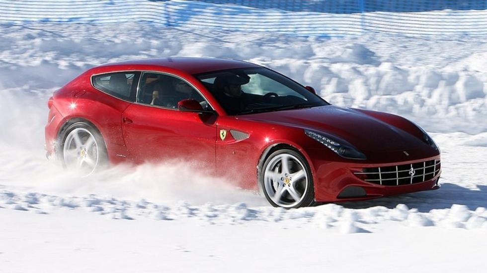 cinco coches sorprendentes Ferrari FF lateral