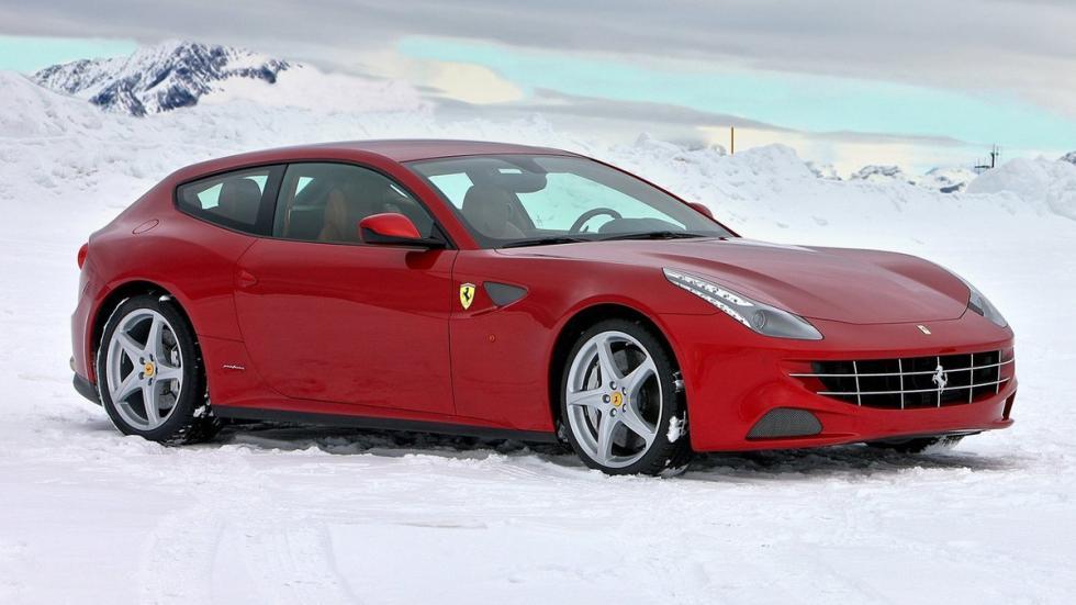 cinco coches sorprendentes Ferrari FF perfil