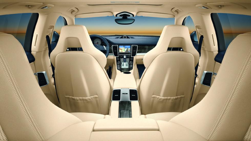 cinco coches sorprendentes Porsche Panamera interior