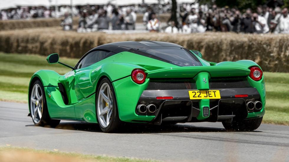 cinco coches sorprendentes Ferrari LaFerrari trasera