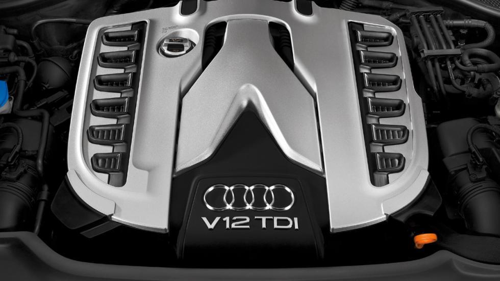 cinco coches sorprendentes motor Audi Q7 V12 TDI