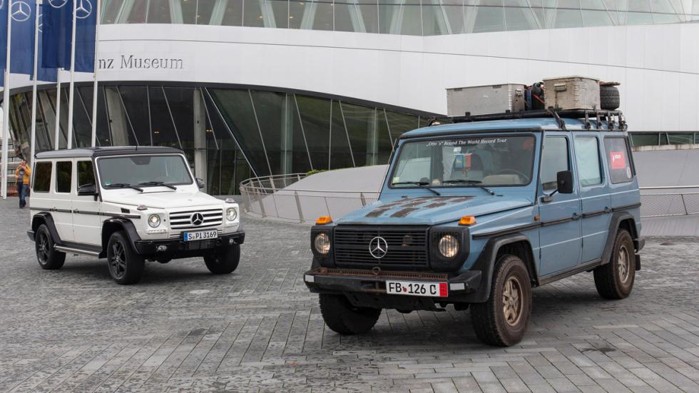 Mercedes Clase G 35 aniversario: bonito regalo de cumple