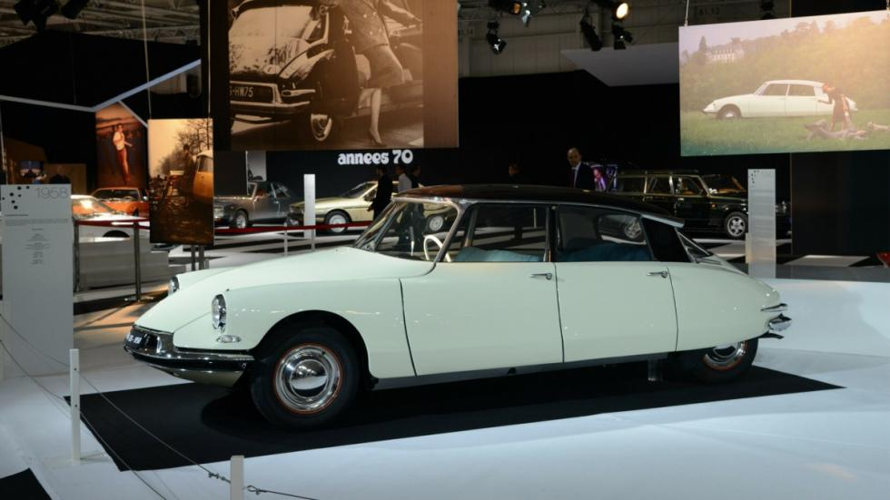 Citroën DS 19 berlina 1958 perfil