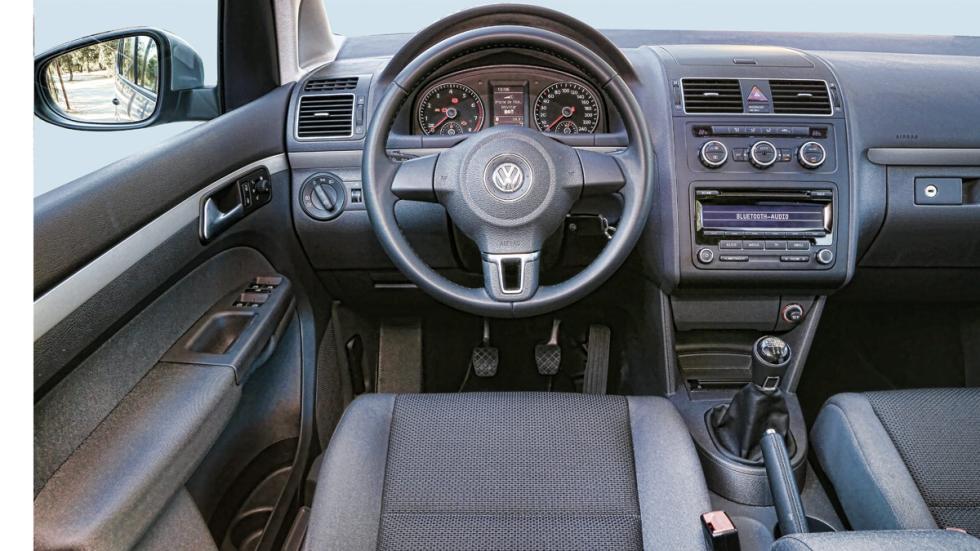 Prueba Volkswagen Touran 1.2 TSI Edition interior