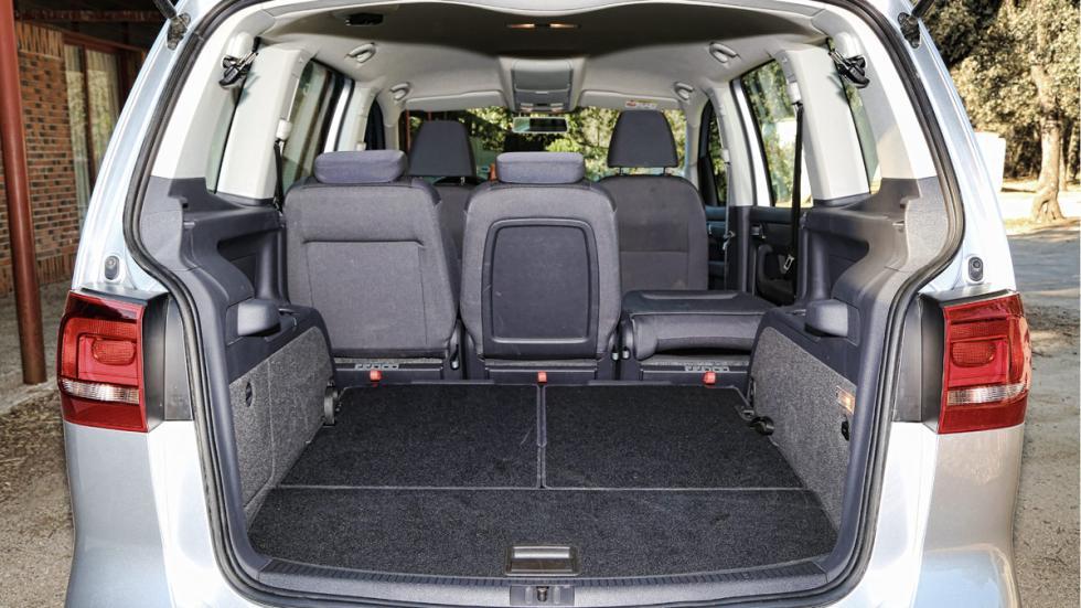 Prueba Volkswagen Touran 1.2 TSI Edition maletero