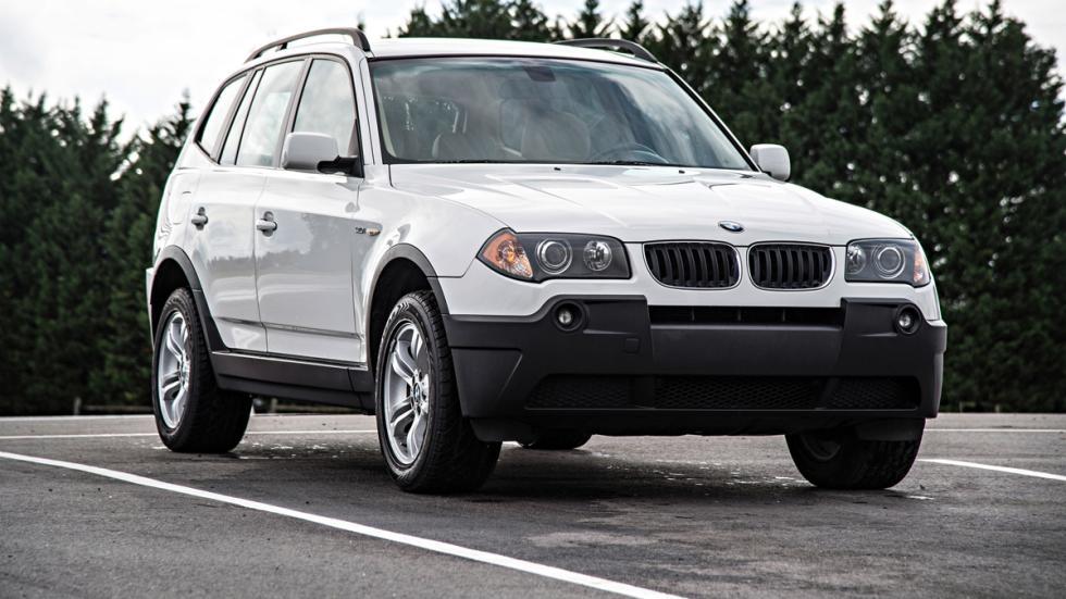 BMW X3 - primera generación - delantera