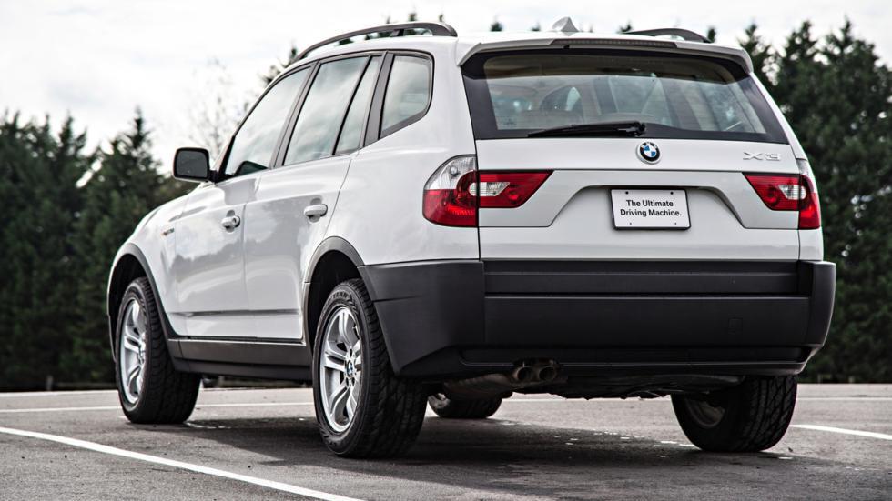 BMW X3 - primera generación - trasera
