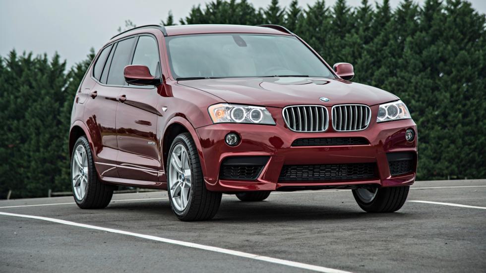 BMW X3 - segunda generación - delantera