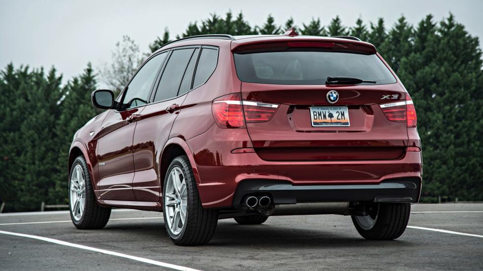 BMW X3 - segunda generación - trasera