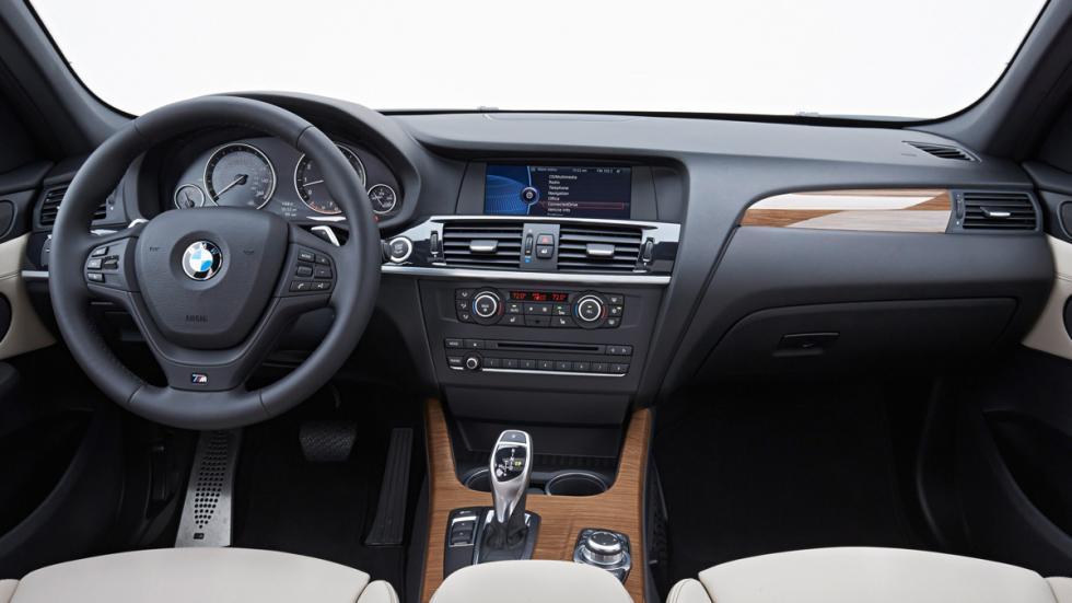 BMW X3 - segunda generación - interior