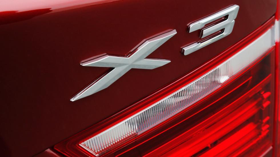 BMW X3 - segunda generación - detalle