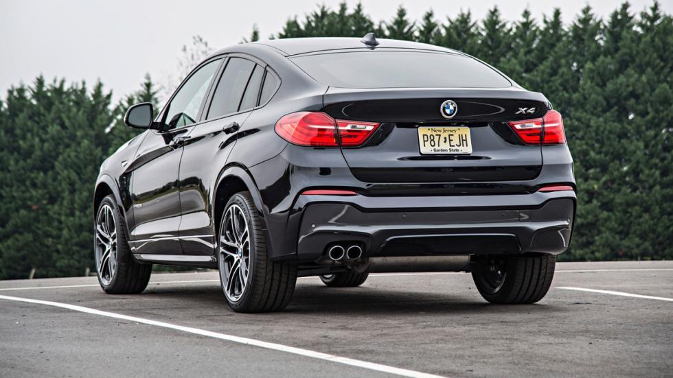 BMW X4 - Trasera