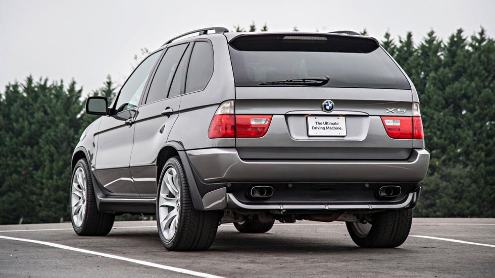 BMW X5 - primera generación - trasera