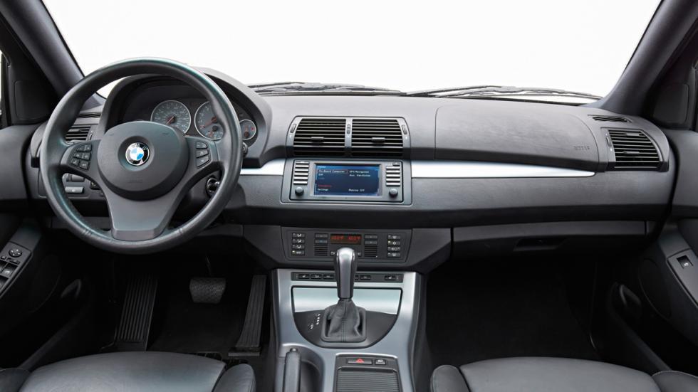 BMW X5 - primera generación - interior