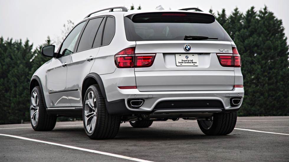 BMW X5 - segunda generación - trasera