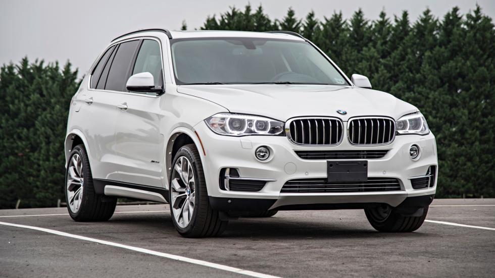 BMW X5 - tercera generación - delantera