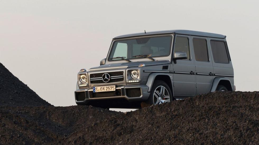 cinco todoterrenos radicales Mercedes Clase G