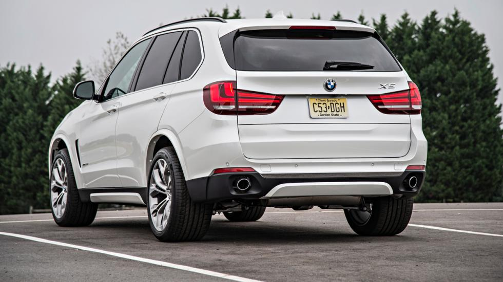 BMW X5 - tercera generación - trasera