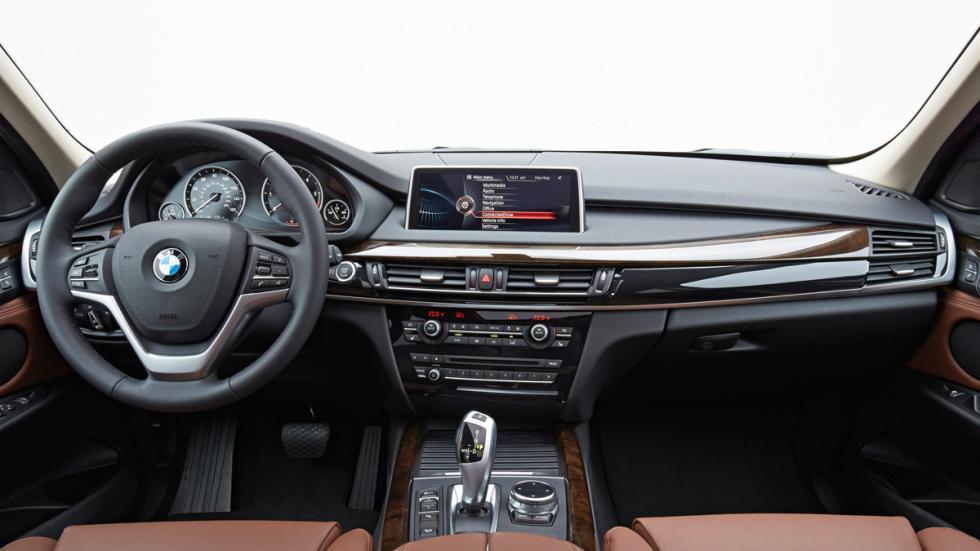 BMW X5 - tercera generación - interior