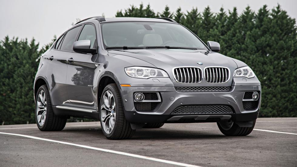BMW X6 - primera generación - delantera