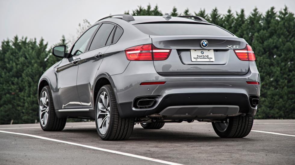 BMW X6 - primera generación - trasera