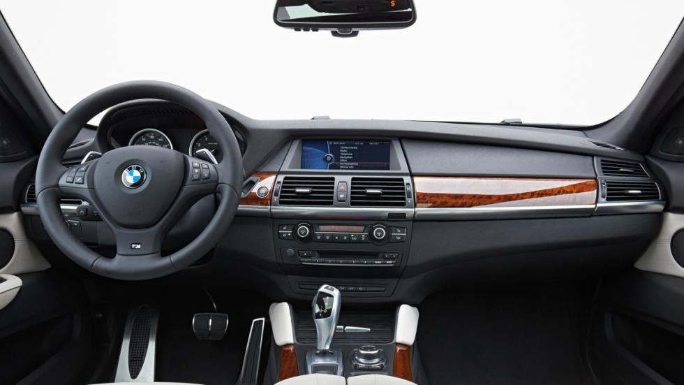 BMW X6 - primera generación - interior
