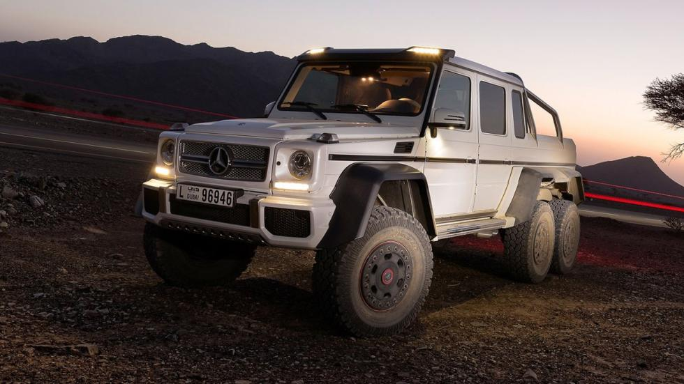 cinco todoterrenos radicales Mercedes G63 AMG 6x6