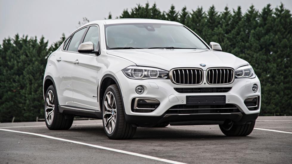 BMW X6 - segunda generación - delantera