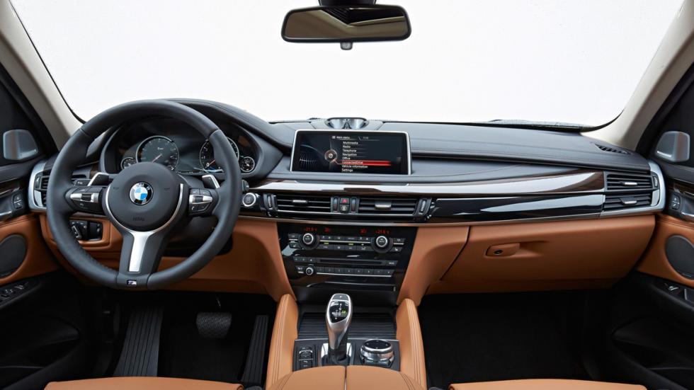 BMW X6 - segunda generación - interior